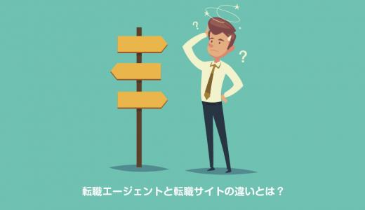 転職エージェントと転職サイトの違いとは?初めての転職でも失敗しないために!