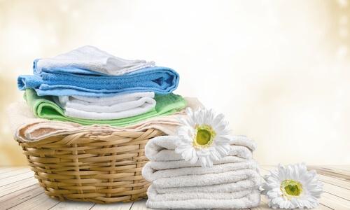 畳まれた洗濯物