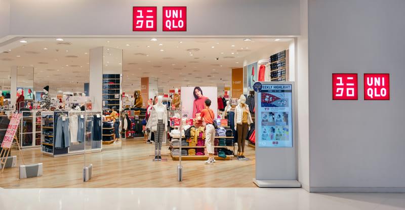UNIQLOの店舗